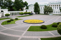 Quadrato lituano del palazzo presidenziale Fotografia Stock