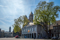 Quadrato a Maastricht Fotografia Stock