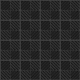 Quadrato nero Fotografie Stock