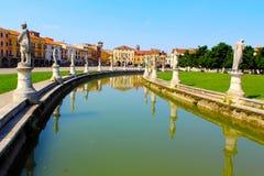 Quadrato a Padova immagini stock
