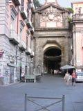 Quadrato Port'Alba 2 di Napoli Dante Fotografie Stock