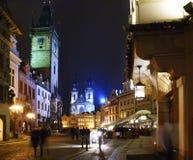 quadrato in Praguе Immagini Stock Libere da Diritti