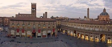 Quadrato principale - Bologna Fotografie Stock Libere da Diritti