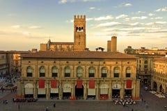 Quadrato principale - Bologna Fotografia Stock Libera da Diritti
