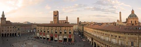 Quadrato principale - Bologna Immagini Stock Libere da Diritti