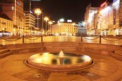 Quadrato principale del croato Immagine Stock