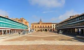 Quadrato principale di Almagro, Spagna Fotografia Stock Libera da Diritti