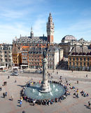 Quadrato principale di Lille, Francia immagini stock