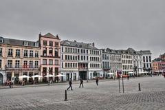 Quadrato principale di Mons Fotografia Stock Libera da Diritti