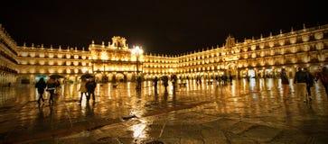 Quadrato principale di Salamanca Fotografia Stock Libera da Diritti
