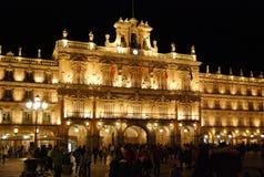 Quadrato principale di Salamanca fotografia stock
