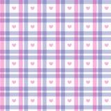 Quadrato rosa e blu romantico Fotografia Stock