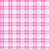Quadrato rosa romantico Fotografia Stock Libera da Diritti