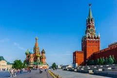 Quadrato rosso di Mosca Immagini Stock