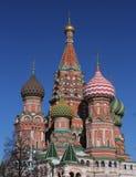 Quadrato rosso Mosca Fotografie Stock
