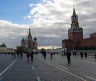 Quadrato rosso, Mosca immagine stock