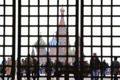 Quadrato rosso a Mosca Immagini Stock
