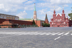 Quadrato rosso a Mosca Fotografie Stock Libere da Diritti