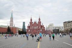 Quadrato rosso a Mosca Fotografia Stock Libera da Diritti