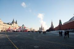Quadrato rosso, Mosca Fotografia Stock Libera da Diritti