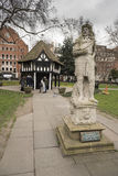 Quadrato Soho Londra di Soho Immagini Stock Libere da Diritti