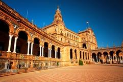 Quadrato spagnolo fotografie stock libere da diritti