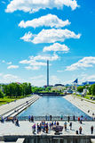Quadrato storico nel centro di Ekaterinburg, Russia Fotografia Stock Libera da Diritti