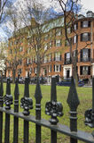 Quadrato su Beacon Hill, Boston, mA di Louisburg Fotografia Stock Libera da Diritti