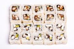 Quadrato-sushi Fotografie Stock