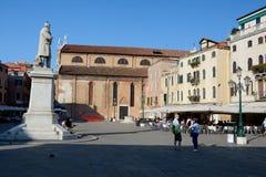 Quadrato a Venezia, Italia Immagine Stock