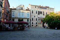 Quadrato a Venezia, Italia Fotografia Stock