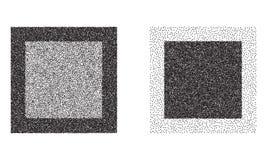Quadratvektorhintergründe Stockbild