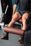 Quadriceps тренировки Стоковые Фотографии RF
