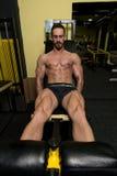 Quadriceps Exercises Royalty Free Stock Photo