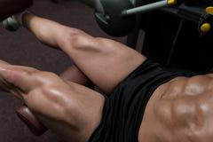 Quadriceps Exercises Royalty Free Stock Images