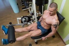 Quadriceps Exercises Stock Photography