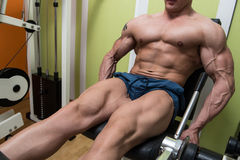 Quadriceps Exercises Stock Photos