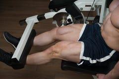 Quadriceps Exercises Royalty Free Stock Photos