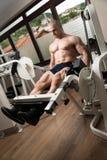 Quadriceps Exercises Royalty Free Stock Image