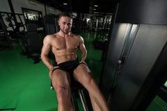 Quadriceps Exercises Close Up Stock Photos