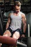 Quadriceps Exercises Close Up Royalty Free Stock Images
