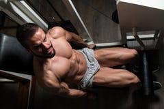 Quadriceps Exercises Close Up Stock Photography