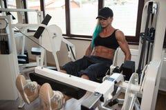 Quadriceps Exercises Stock Image