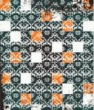 Quadriculação abstrata das telhas de mosaico do grunge ilustração royalty free