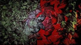 Quadriculação abstrata, fundo decorativo do grunge do vintage, com textura floral de cursos largos, projeto da pintura para a tap Imagem de Stock Royalty Free