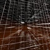 Quadriculação da matriz Foto de Stock Royalty Free