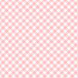 Quadrieren Sie abgestreiftes Textilmuster für Ihr Design, roten Streifen vorbei stock abbildung