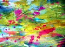 Quadriert buntes GlasDesign, abstrakten Hintergrund, Muster Stockfoto