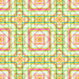 Quadriert geometrische Hintergrundfarbsüße Vektortapete Stockfoto
