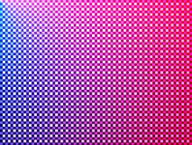 Quadriert rotes blaues rosafarbenes Veilchen Lizenzfreies Stockfoto